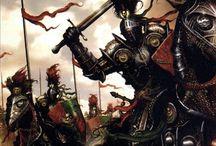 medieval battle scenes