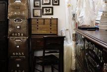 studio - workspace - tools / by Deb Ellis