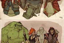 Marvel &DC
