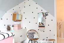 Kids wallpaper/Wall playroom