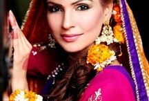 Love this look for a mehndi