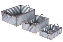 Baskets / Stay organized and stylish. Find the perfect basket, bin & storage containers here.