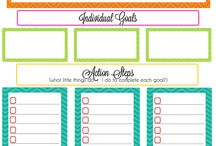 Planner Pages to Print