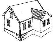 Bygge om/på huset? / Treng større plass på kjøkken, og...