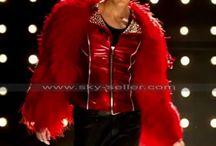 Glee Darren Criss (Blaine Anderson) Diva Red Jacket