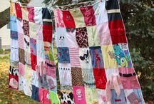 My Baby Clothes Memory Blankets / Preserving memories of your baby using his/her clothes in a practical blanket. / by Maiden Jane