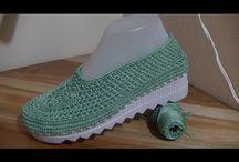zokni, cipő
