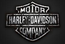 Harley Davidson / Harley Davidson 3D logos in different textures / by Pixellogo