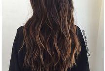 Sun Kissed Hair Brunette