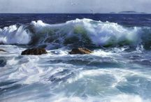 seascapes oil-paintings