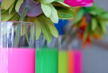 Neon Party / Neon party ideas
