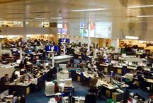 The Telegraph / For the Tow/Knight Project, the Telegraph offers some fascinating examples of how to move in newsrooms design.