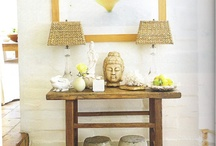 porch (interior) redesign / Inspiration for converting a 3 season porch to more of a sitting room with some mudroom storage / by Kristen Wright Design