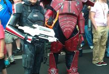 References - Mass Effect cosplay