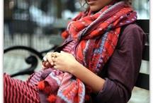 Foulards / scarves / by Laetitia Saint Olive