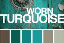 color schemes turquoise