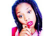 My Style Hair / Purple box Braid