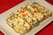 Recetas con verduras / Recetas de cocina fácil, recetas con verduras, frutas, sanas y saludables.