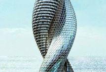 Rascacielos / Megaestructuras y colosos de hormigón / by Estudio Arquitectura Ricardo Pérez Asin