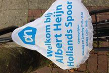 Zadelhoesjes supermarkten / Supermarkten bestellen regelmatig zadelhoesjes voor winkelopeningen en genereren van extra klanten. Zelf bestellen? www.zadel-hoesjes.nl