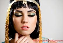 Maquillaje de disfraz egipcio