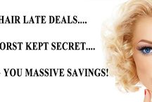 Red Hair Late Deals / Good Sunday To You All!   We have refreshed our Late Deals for the week ahead, so if you have been Inspired by what you have seen on our Social Media Pages lately, why not head over to our Late Deals page & see what we have for you?!http://www.redhair-online.co.uk/latedeals/