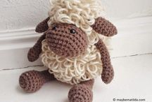 Sheep Chrochet frew pattwrn