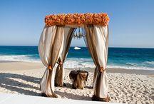 Wedding Theme: Beach / #destinationwedding #vacationWedding #sunsetwedding #themeweddings #christmaswedding #beach #beachwedding #love #sjsevents #sonaljshah #sjs #weddingplanner #reception #weddingreception www.sjsevents.com/