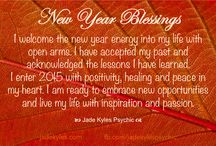 Happy New Year ★ Jade Kyles Psychic / Happy New Year. Blessings, inspiration, positivity and greetings are being sent your way with my Happy New Year  Quotes. ♡ Many blessings Jade Kyles Psychic ♡ Thanks for connecting. I would love you to visit me at www.jadekyles.com or on fb at www.facebook.com/jadekylespsychic . You can also subscribe to my channel at www.youtube.com/jadekylespsychic