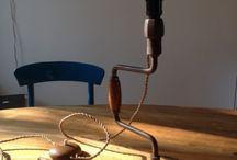 Vertoonerij / Unieke zelfgemaakte lampen