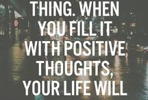 POSITIVITY / All things positive & beautiful