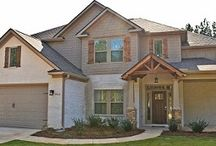 Homestead Residential Homes / A look at our beautiful homes in the Auburn, Alabama, area.