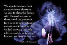 Words of Wisdom in Reflection / BY CAROLE THOMPSON