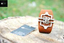 Bratari unicate pentru barbati / Producator de accesorii unicate din piele, lucrate manual. Pentru informatii si comenzi sunati numarul:  0756-699 225 - orange