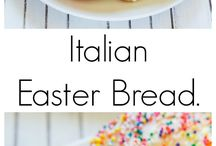 Easter / Easter food, treats, gifts and sweets.