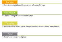Menu Plans / All about menu plans and menu planning
