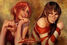 Comic Book Art / Awesome comic book art.