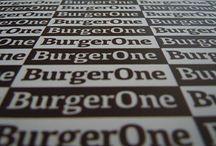 BurgerOne / Branding