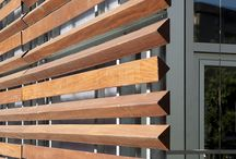 Timber screen ideas