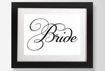 Wedding Signs / Signage