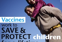 Vaccines save lives / Did you know that only 4 out of 5 children are vaccinated? Help us reach that 5th child. #vaccineswork