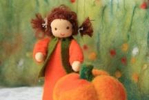 Autumn Waldorf crafts