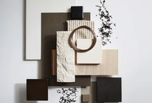 Material boards inspiration