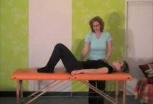 Cvičení a masáže