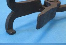 Blacksmithing tools/Smedeværktøj.
