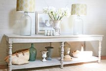 Shades of Yellow / I love using yellow in the home in Spring and Summer, nothing uplifts or cheers quite like yellow!