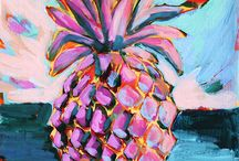 Pineapples! / Pineapples are golden! / by Christine Hornicke