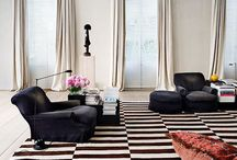 Sit back, relax / Beautful lounge spaces