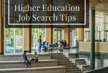 Higher Education Job Search Tips / Curriculum vitae (CV) and resume writing tips for college instructors, university professors or other higher education professionals. Job search tips, interview strategies, and career help.