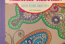 Colouring books / Cahiers coloriage Kleurboeken   Private collection